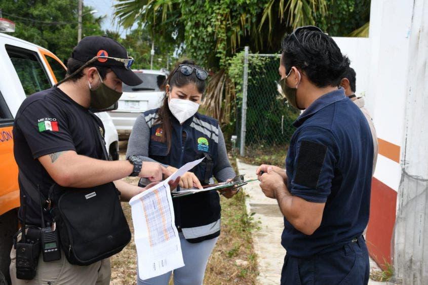 Protección Civil verifican albergues y refugios temporales contra huracanes..