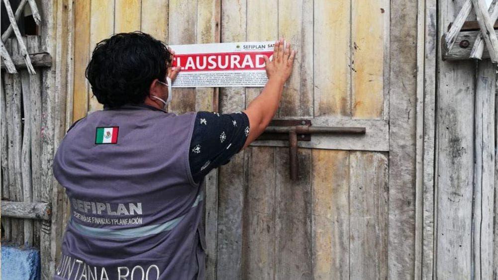 Clausuran negocios de bebidas alcohólicas en la zona maya