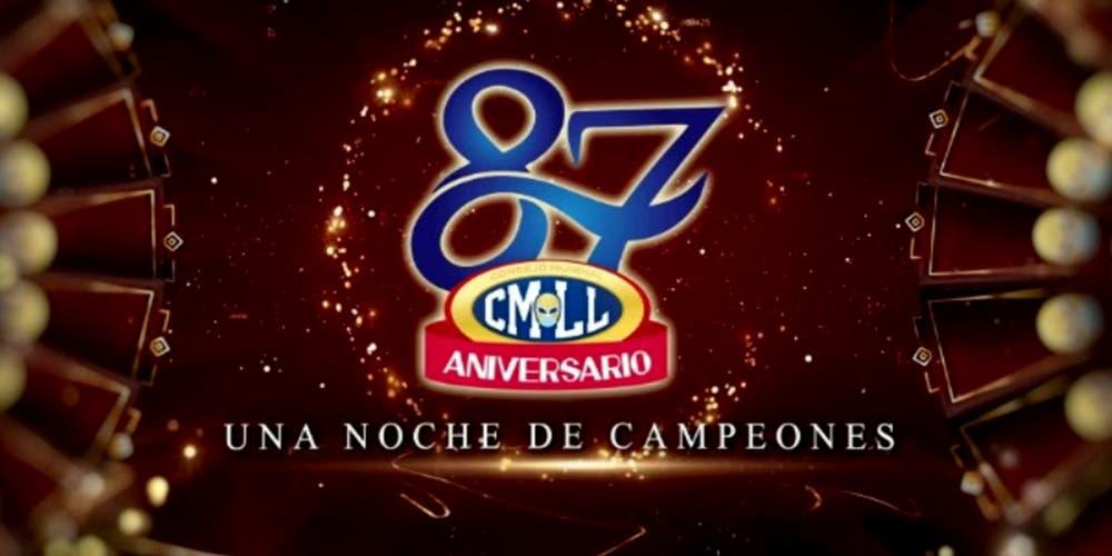 CMLL arranca las votaciones del 87 aniversario