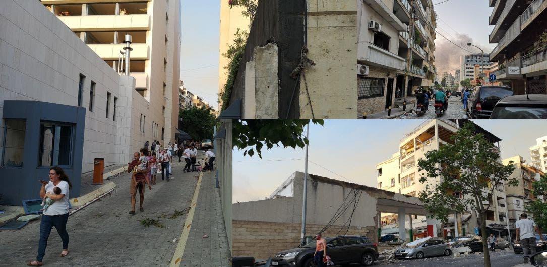 Enorme explosión sacude la capital de Líbano, Beirut