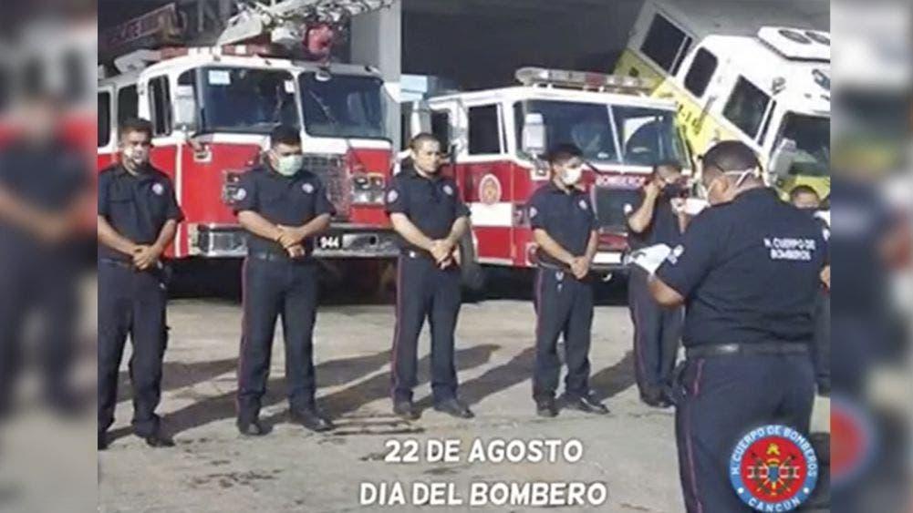 Cancún: Festejan bomberos su día con 10 mdp en equipo