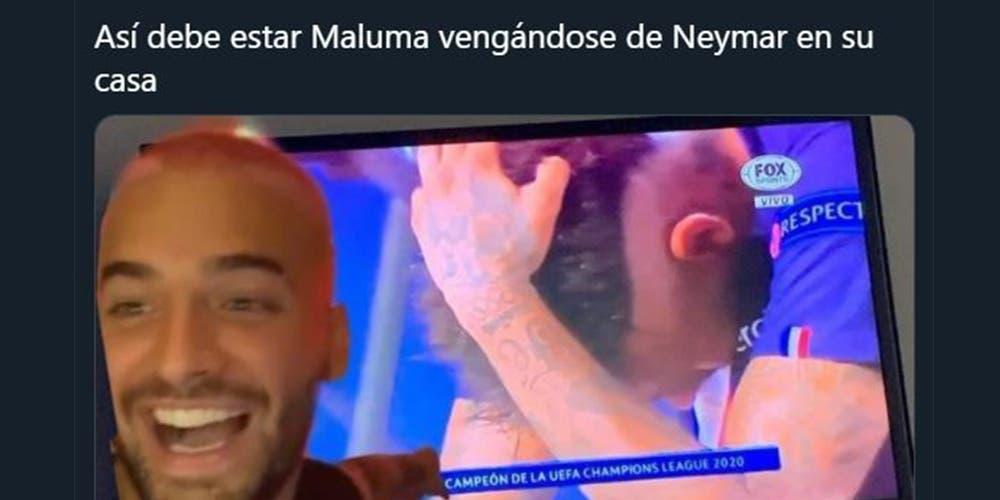 Maluma fue el rey de los memes ante el triunfo del Bayern Múnich