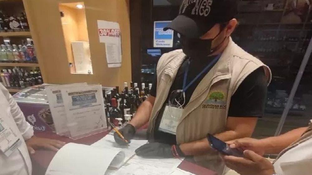 Clausura SAT expendios de bebidas alcohólicas en Quintana Roo