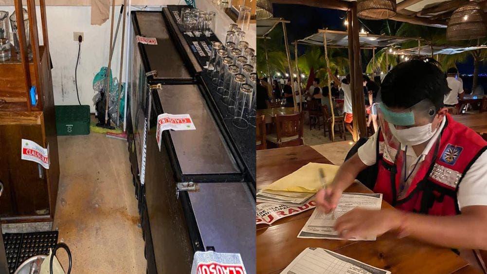 Sefiplan clausura negocios en Cancún, Holbox e isla Mujeres