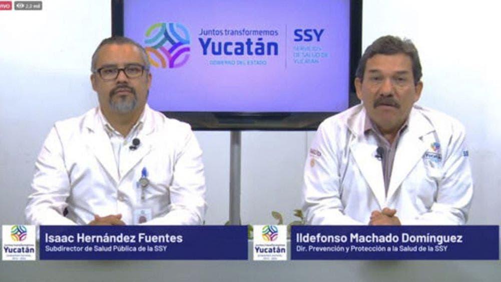 Reportan hoy en Yucatán 158 nuevos casos de coronavirus y 30 muertos
