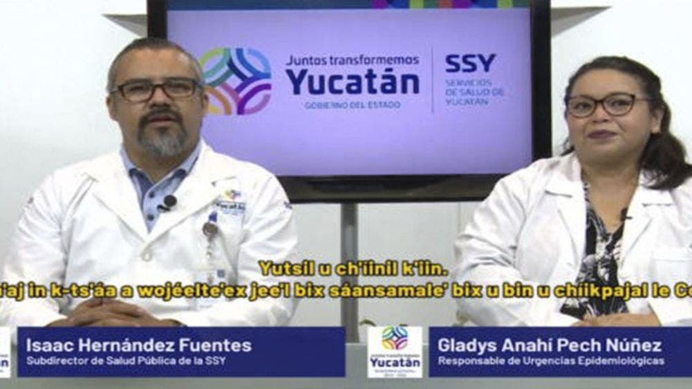 Yucatán reporta 10,743 casos positivos de coronavirus; 1,272 decesos
