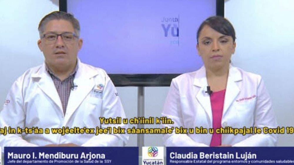 Reportan 211 nuevos casos de coronavirus en Yucatán y 34 fallecidos