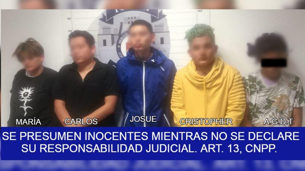 Niño de 14 años detenido por robo con violencia en Cancún