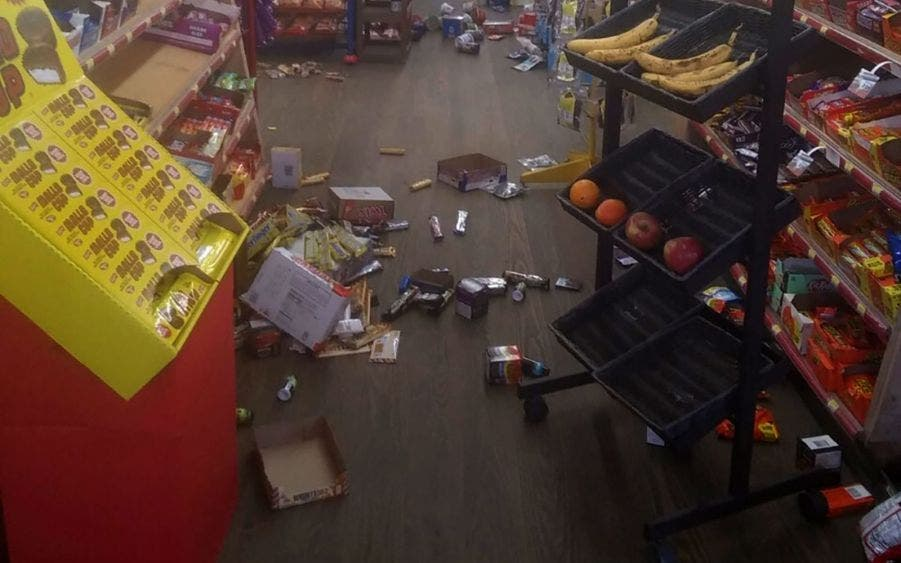 Raro temblor de 5.1 estremece a Carolina del Norte.