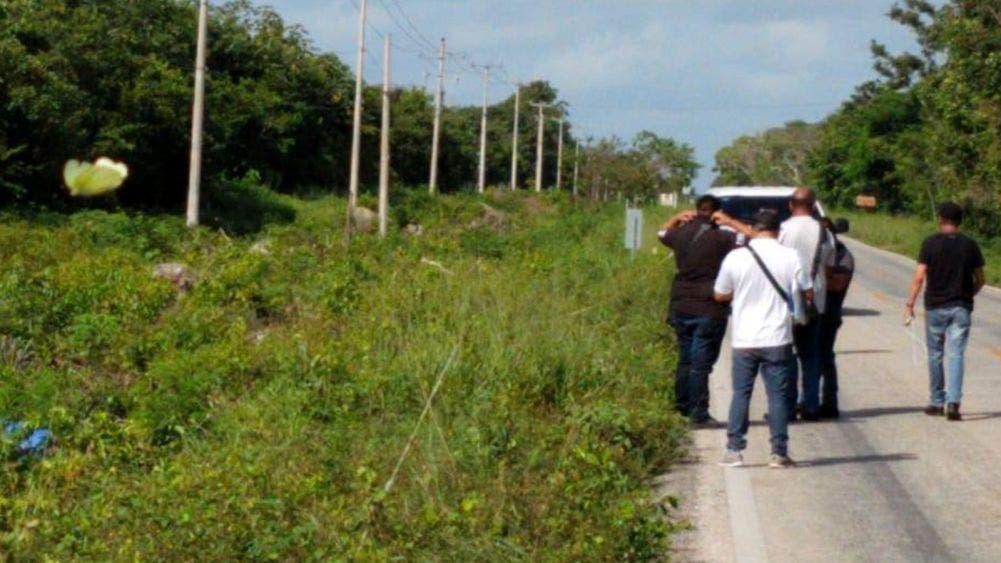 Cancún: Motociclista es ejecutado en marcha en la Cancún-Leona Vicario