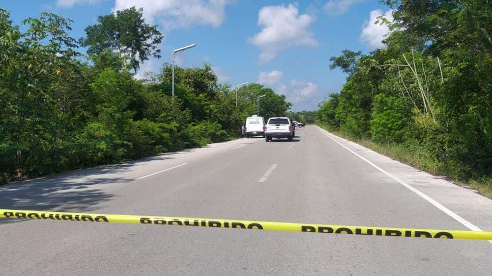 Isla Mujeres: Pareja encuentra a ejecutado en área verde