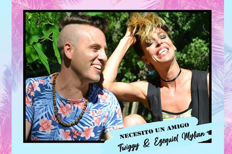 """Twiggy y Ezequiel Mylian tienen gran éxito con """"Necesito un amigo"""""""