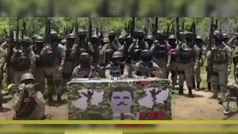 """Video: Supuesto """"Mencho"""" jura tomar Tepalcatepec con su ejército"""