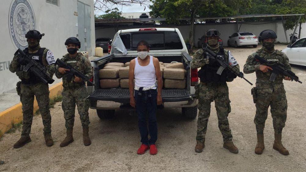 Golpe al narcotráfico en la Ribera del Río Hondo