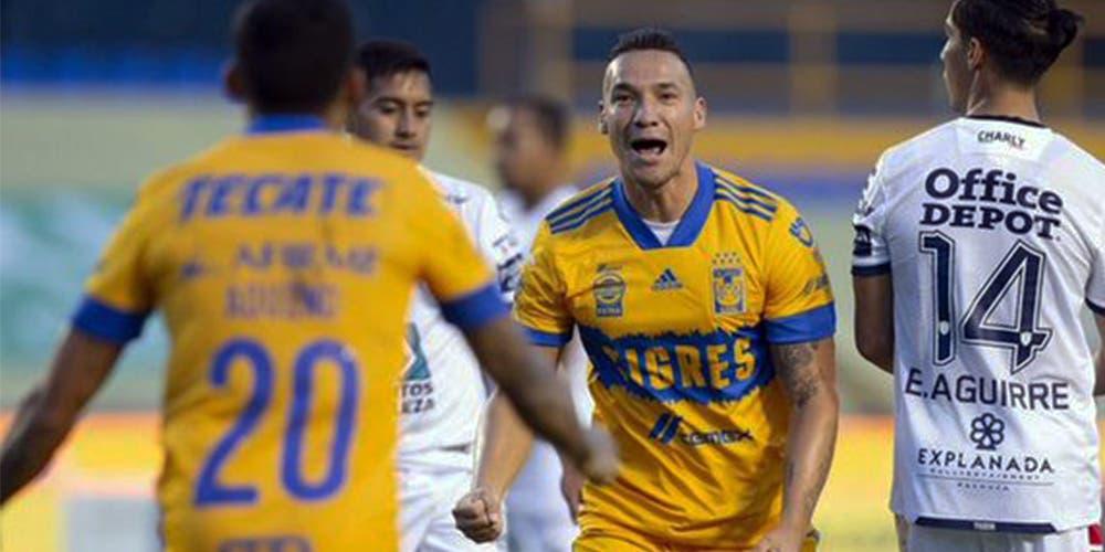 Liga MX: Pachuca empata de último minuto frente a Tigres