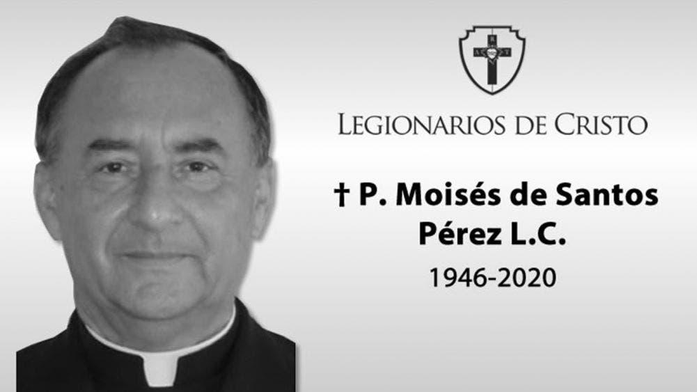 Fallece en Cancún a los 74 años el padre Moisés De Santos Pérez