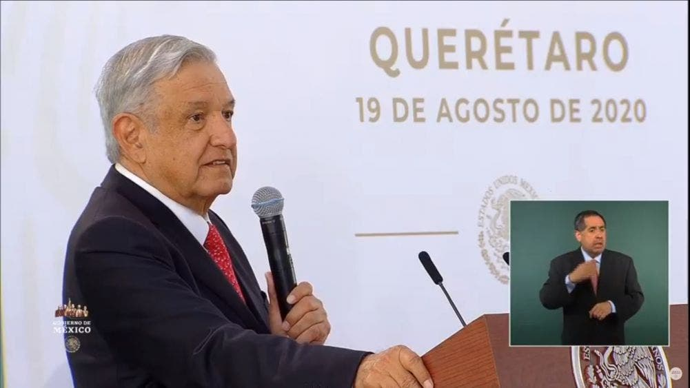Acusó AMLO a Salinas, Zedillo, Fox, Calderón y EPN de traición a la patria
