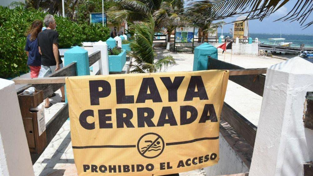 Llama Laura Fernández a portomorelenses a no arriesgarse y respetar playas cerradas