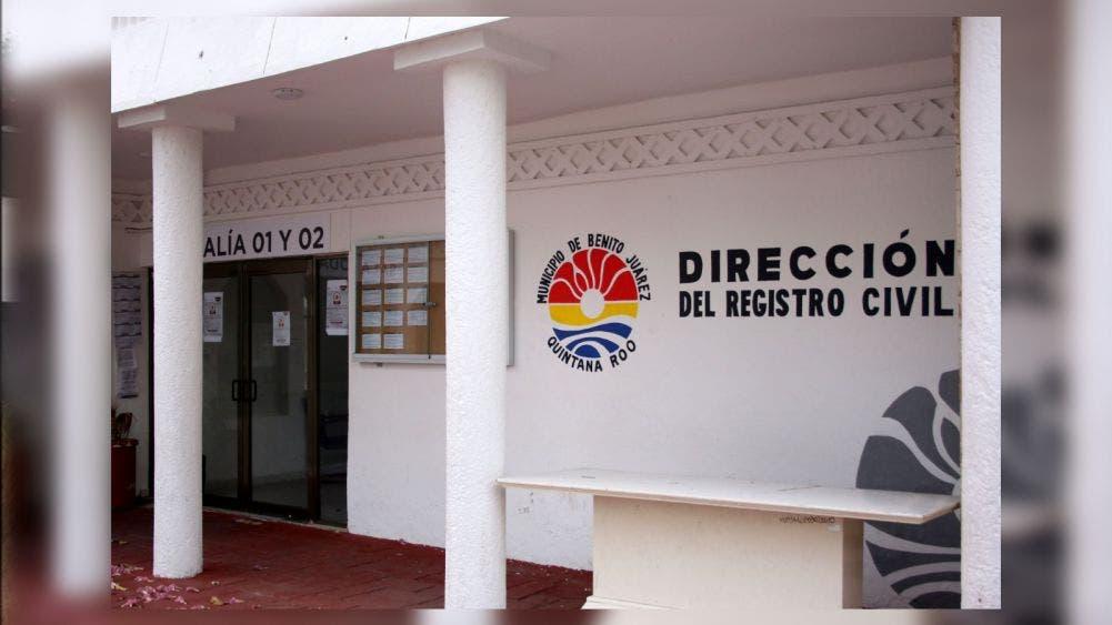 Reactivan servicio de actas de nacimiento en Cancún