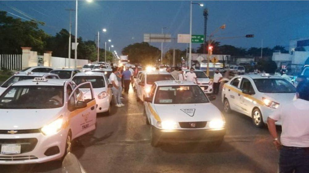 Taxistas de Chetumal piden incremento temporal de tarifas