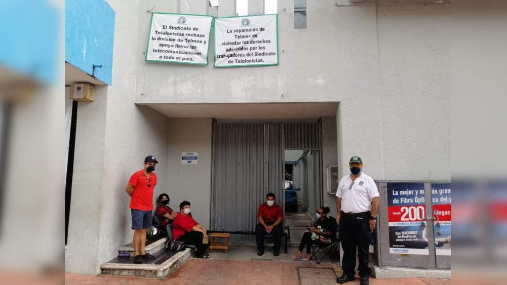 Se unen a paro nacional telefonistas de Cozumel