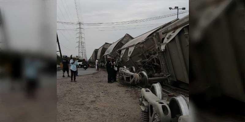 Video: Se descarrila tren en Edomex