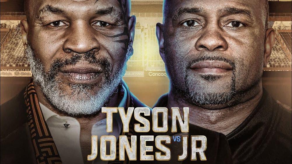 Mike Tyson vs Jones Jr. cambia de fecha.- Para este 2020 una de las peleas más esperadas es el combate entre Mike Tyson y Roy Jones Jr.