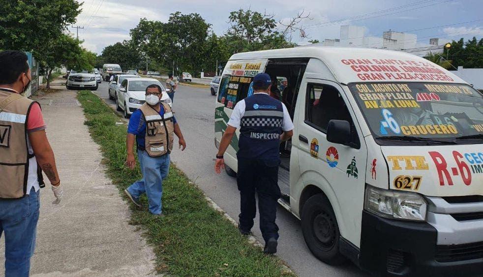 Policía de Reacción Covid de Cancún realiza su primera detención.