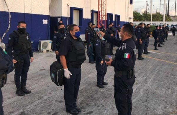 Contabiliza 600 amonestaciones la Policía de Reacción Covid.