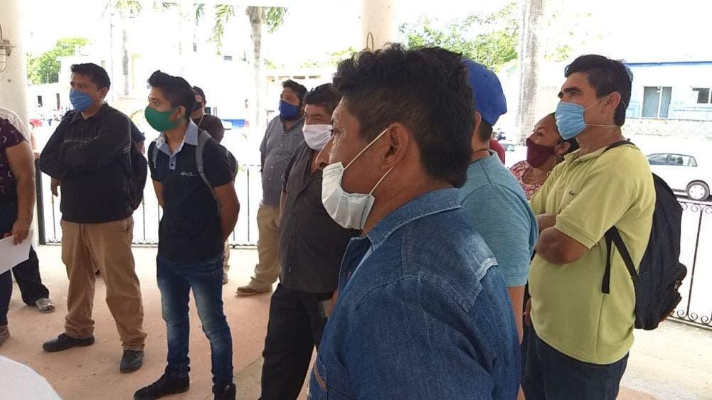 Retrasa edil pagos a autoridades de Zona Maya de FCP; a la fecha no han recibido el pago de aguinaldo, prima vacacional y compensaciones.