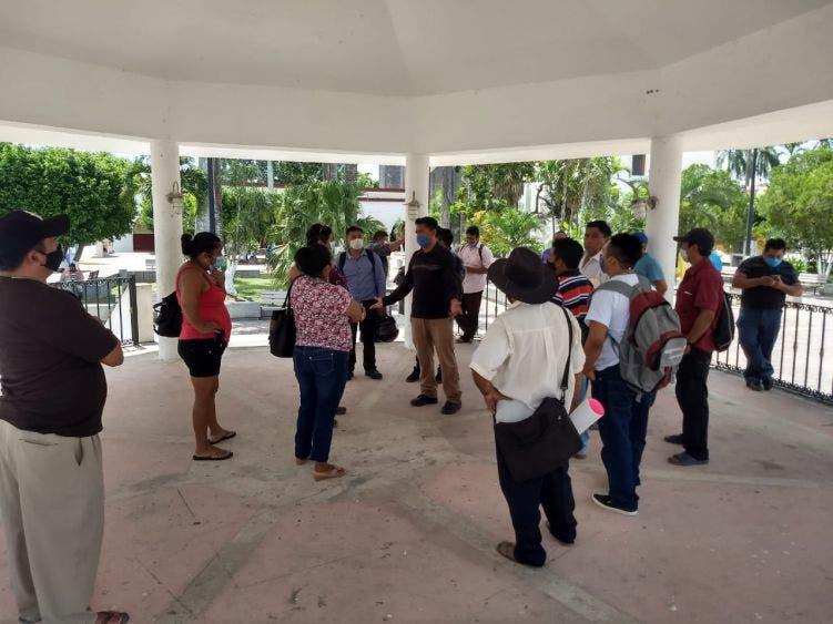 Retrasa edil pagos a autoridades de Zona Maya de FCP.