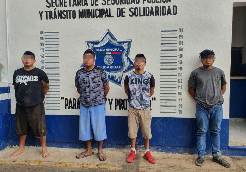 Golpe a narcomenudistas en Playa del Carmen.
