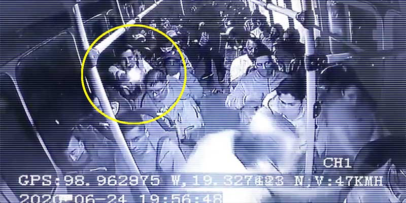 Video: Asalto a transporte público termina en balacera