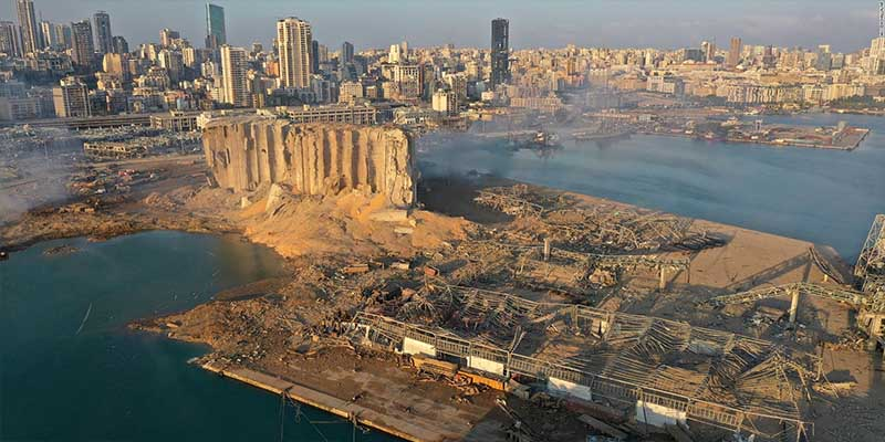 Detienen al director de aduanas de Líbano tras explosión en Beirut