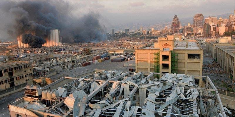 Catástrofe de Beirut fue ocasionada por 2 mil 750 toneladas de nitrato de amonio