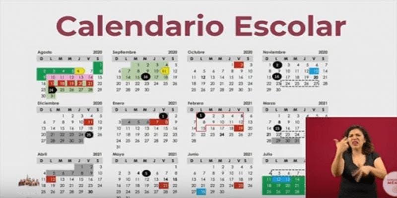 SEP presenta el calendario escolar 2020-2021