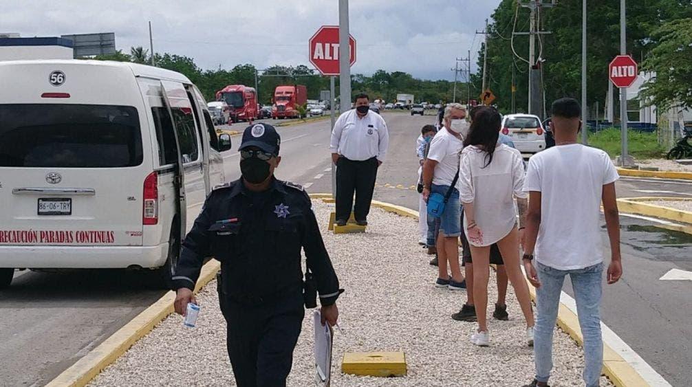 Van 26 personas arrestadas por no usar cubrebocas en Chetumal.