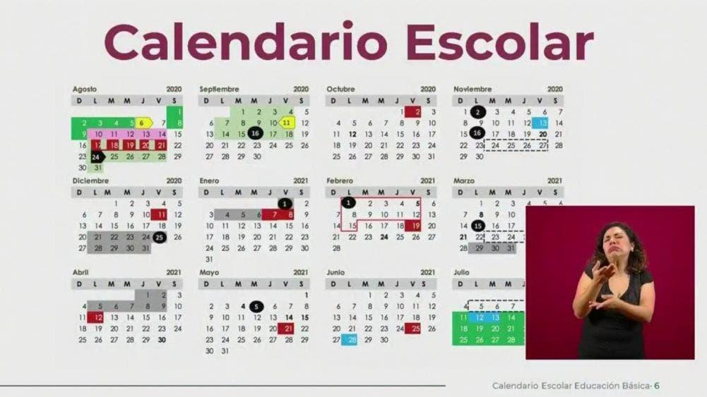13 días de asueto y 2 periodos vacacionales para ciclo escolar 2020-21