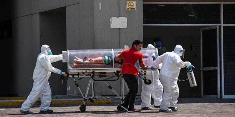 Ya son 443 mil 813 casos positivos de Covid-19 en México