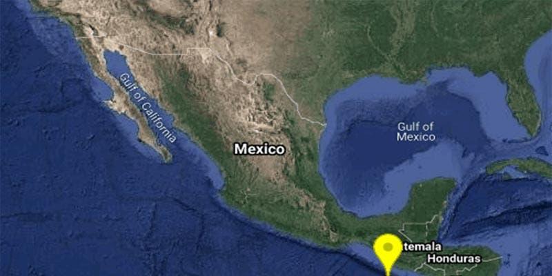 Sismo de 5.7 sacude al sur de Chiapas