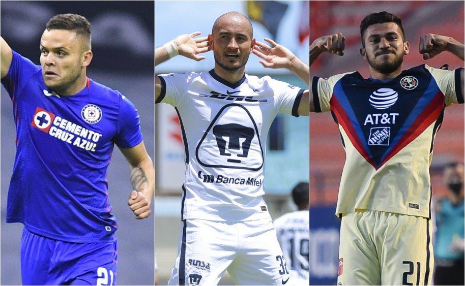 Cruz Azul, Pumas y América mandan en Guardianes 2020