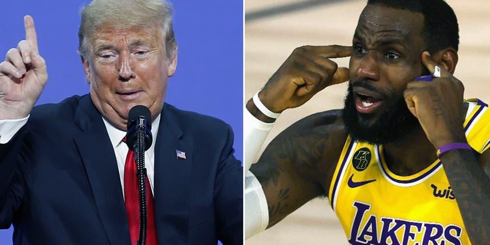 """""""No sé porqué protestan"""" Donald Trump a jugadores de la NBA"""