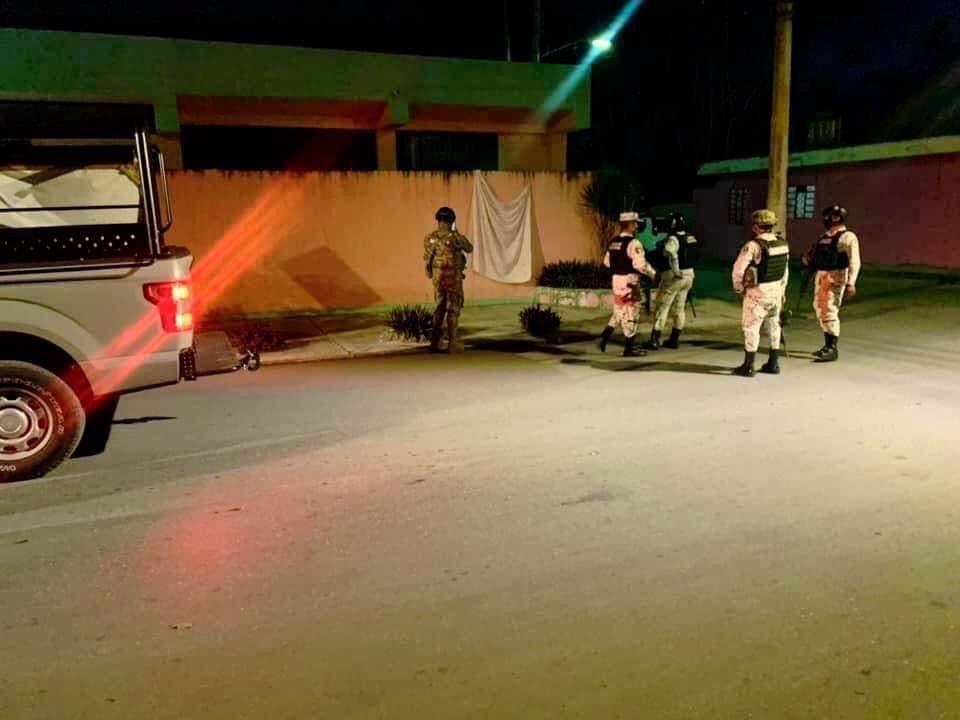 Guardia Nacional asegura narcomanta en Cozumel
