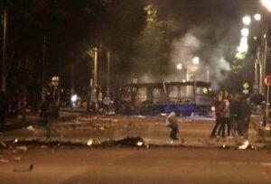 Bogotá sumó su tercer día de disturbios