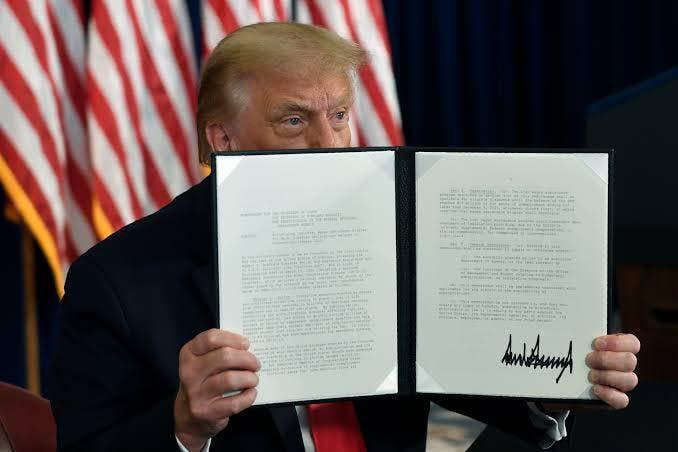 Trump anunció nuevo acuerdo de paz entre Israel y Bahréin