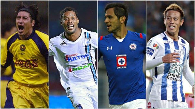 7 leyendas mundiales que no brillaron en la Liga MX