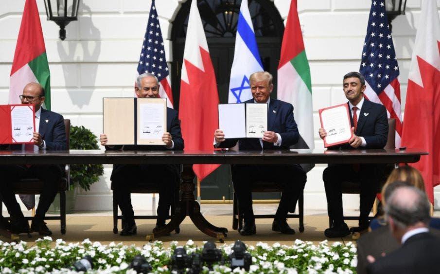 Emiratos Árabes, Israel y Baréin firman los Acuerdos de Abraham
