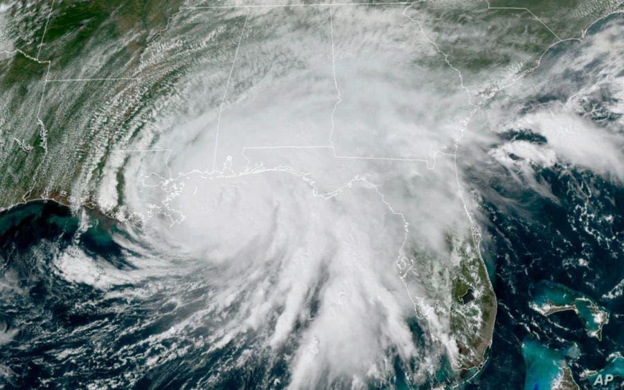 Huracán Sally tocó tierra como categoría 2 en la costa de Alabama