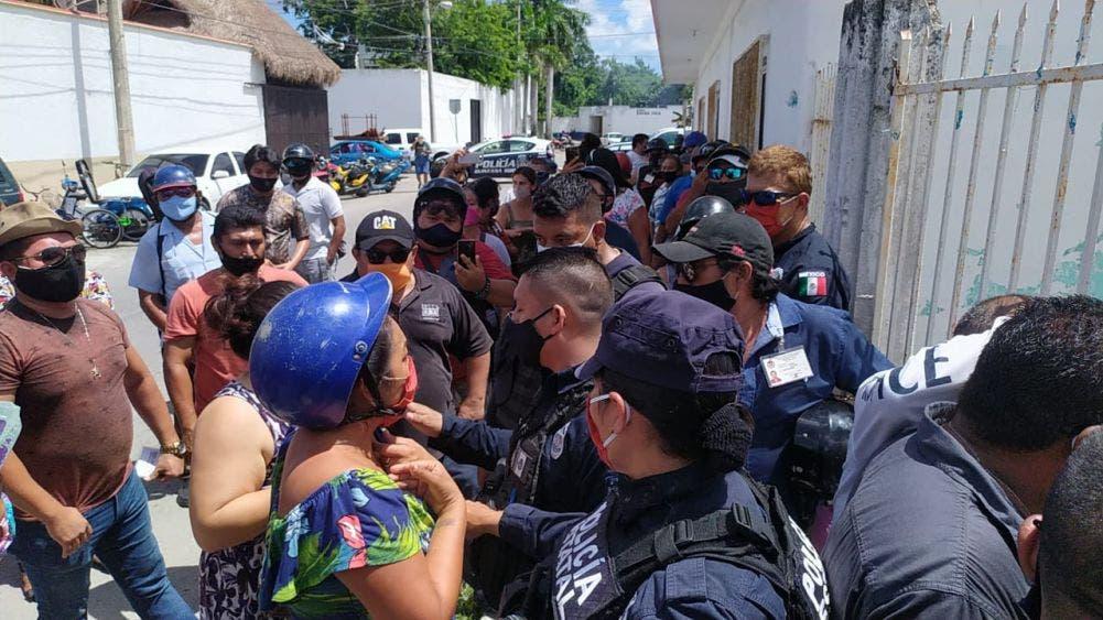 Gresca entre músicos en el sindicato de Cozumel