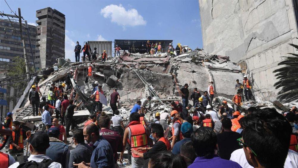 El 19 de septiembre, el recuerdo de los devastadores sismos de México.